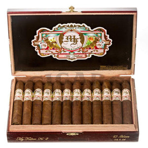My Father Cigars My Father No.2 Belicoso Box Open