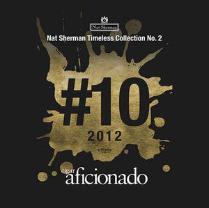 Nat Sherman Timeless Collection No.2 2012 No.10 Cigar of The Year