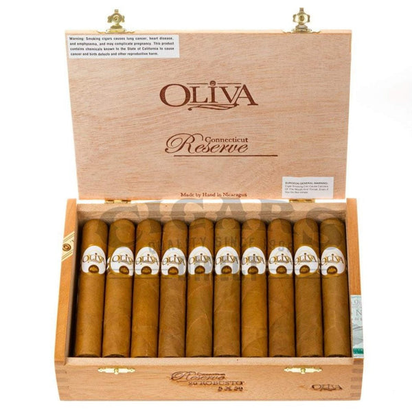 Load image into Gallery viewer, Oliva Connecticut Reserve Robusto Box Open