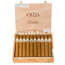 Load image into Gallery viewer, Oliva Connecticut Reserve Toro Box Open