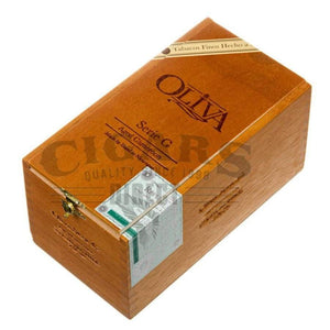 Oliva Serie G Cameroon Churchill Box Closed