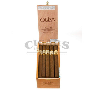 Oliva Serie G Cameroon Churchill Box Open