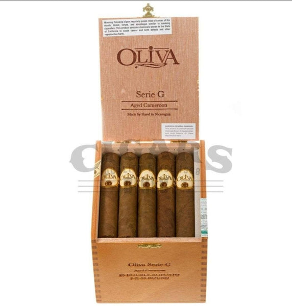 Load image into Gallery viewer, Oliva Serie G Cameroon Double Robusto Box Open