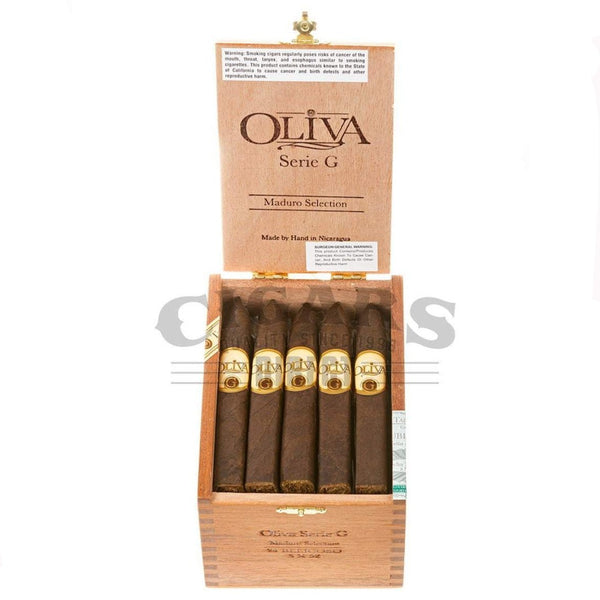 Load image into Gallery viewer, Oliva Serie G Maduro Belicoso Box Open