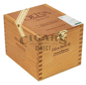 Oliva Serie G Maduro Presidente Closed Box