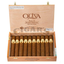 Load image into Gallery viewer, Oliva Serie O Double Toro Box Open