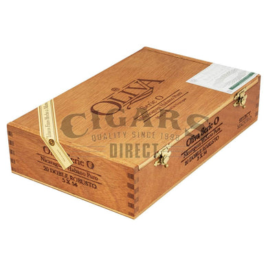 Oliva Serie O Maduro Double Robusto Closed Box
