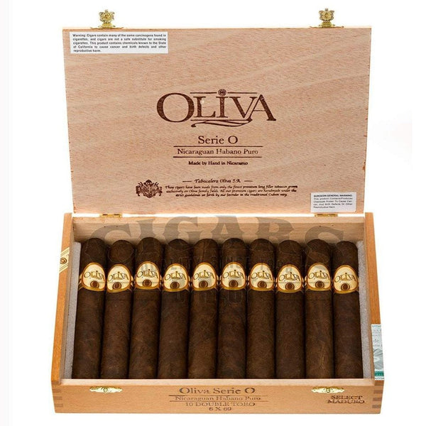 Load image into Gallery viewer, Oliva Serie O Maduro Double Toro Box Open