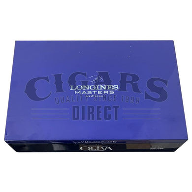 Oliva Serie V Melanio Churchill Longines Closed Box