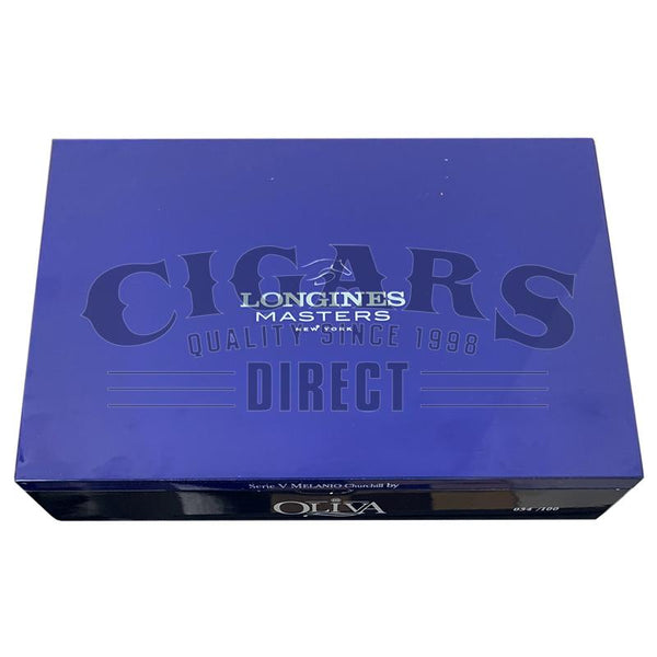 Load image into Gallery viewer, Oliva Serie V Melanio Churchill Longines Closed Box