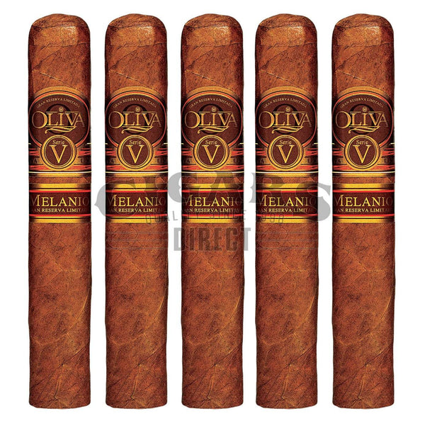 Load image into Gallery viewer, Oliva Serie V Melanio Double Toro 5 Pack