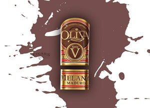 Oliva Serie V Melanio Maduro Churchill Band