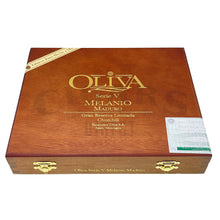 Load image into Gallery viewer, Oliva Serie V Melanio Maduro Churchill Closed Box