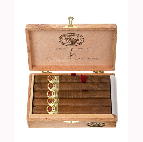 Load image into Gallery viewer, Padron 1926 Anniversary No 1 Natural 10 count Box Open