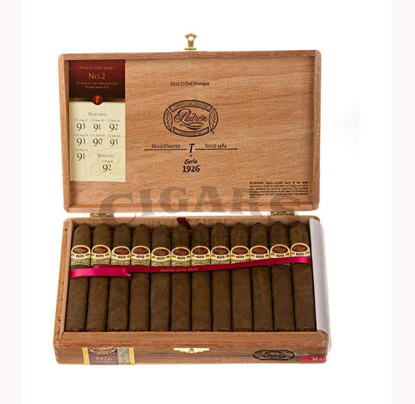 Load image into Gallery viewer, Padron 1926 Anniversary No.2 Maduro Box Open