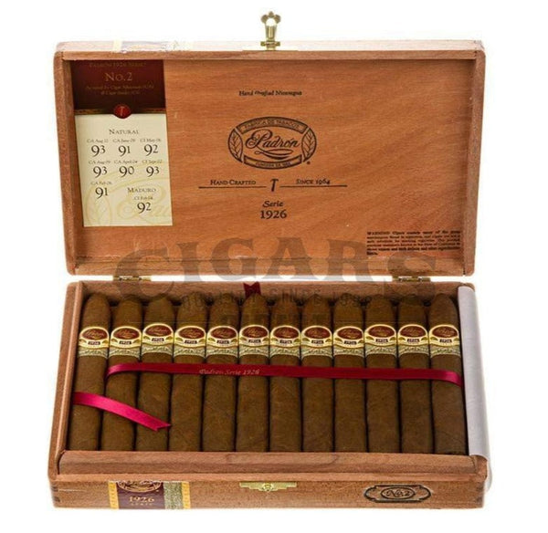 Load image into Gallery viewer, Padron 1926 Anniversary No.2 Natural Box Open