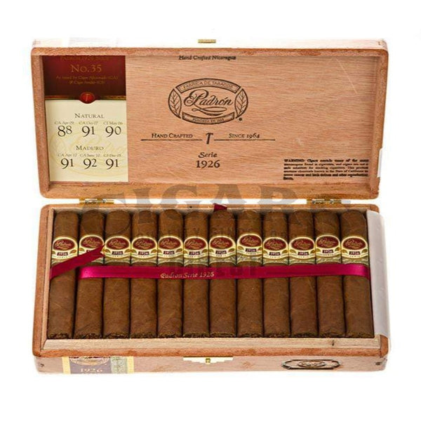 Load image into Gallery viewer, Padron 1926 Anniversary No 35 Natural Box Open
