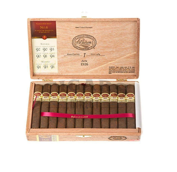 Load image into Gallery viewer, Padron 1926 Anniversary No 6 Maduro Box Open