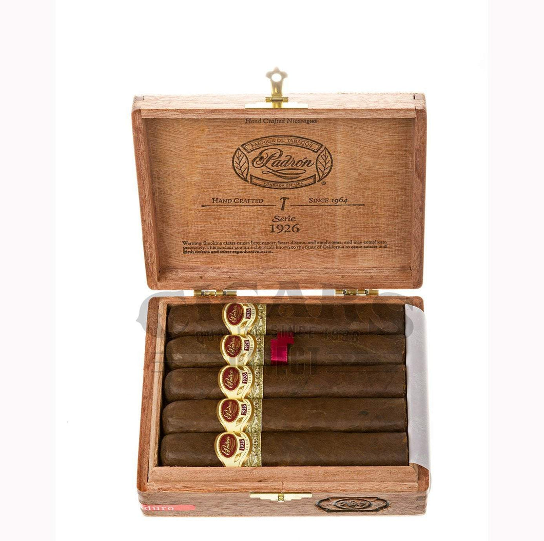Padron 1926 Anniversary No.9 Maduro 10 count Box Open