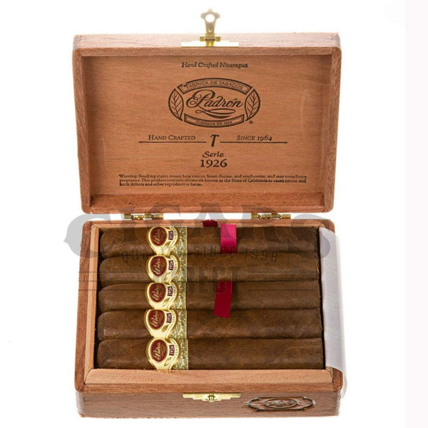 Load image into Gallery viewer, Padron 1926 Anniversary No.9 Natural 10 count Box Open