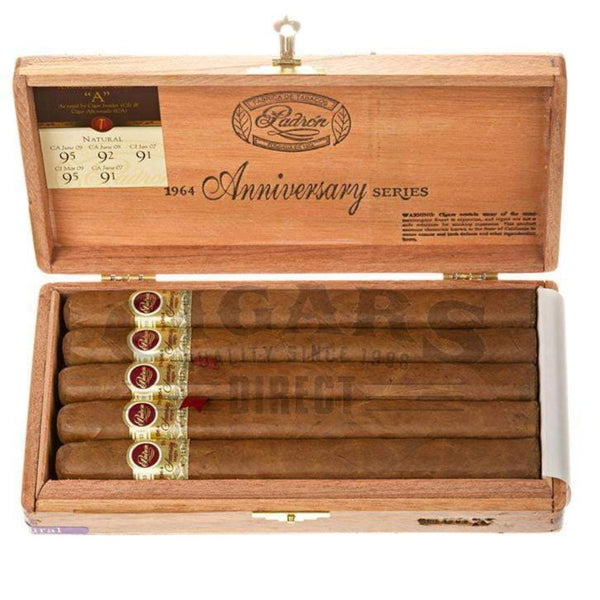 Load image into Gallery viewer, Padron 1964 Anniversary A Natural Box Open