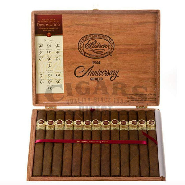 Load image into Gallery viewer, Padron 1964 Anniversary Diplomatico Natural Box Open