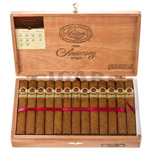 Padron 1964 Anniversary Imperial Natural Box Open