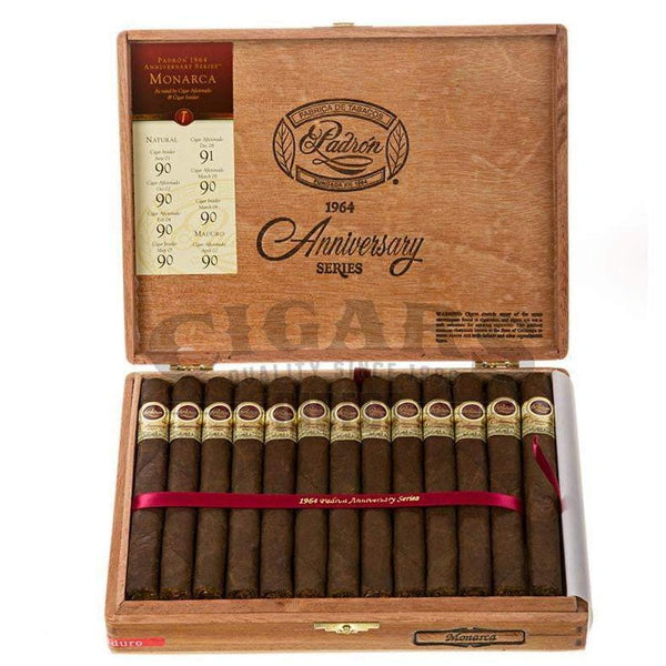 Load image into Gallery viewer, Padron 1964 Anniversary Monarcas Maduro Box Open