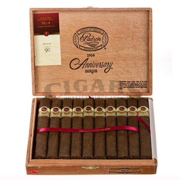 Load image into Gallery viewer, Padron 1964 Anniversary No.4 Maduro Box Open