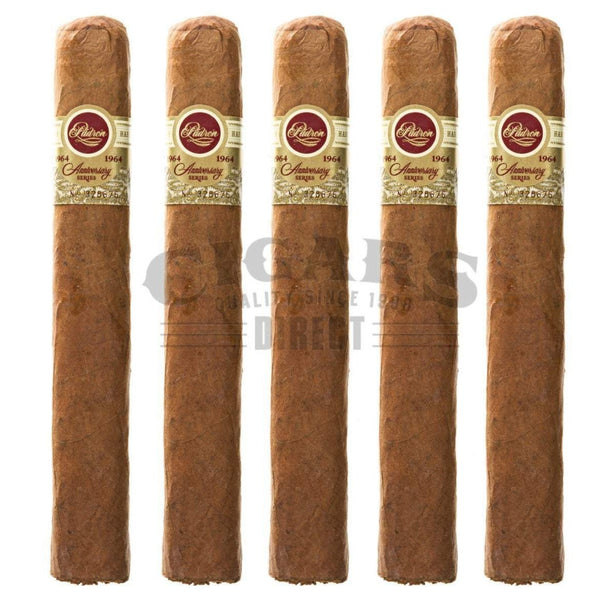 Load image into Gallery viewer, Padron 1964 Anniversary No.4 Natural 5 Pack
