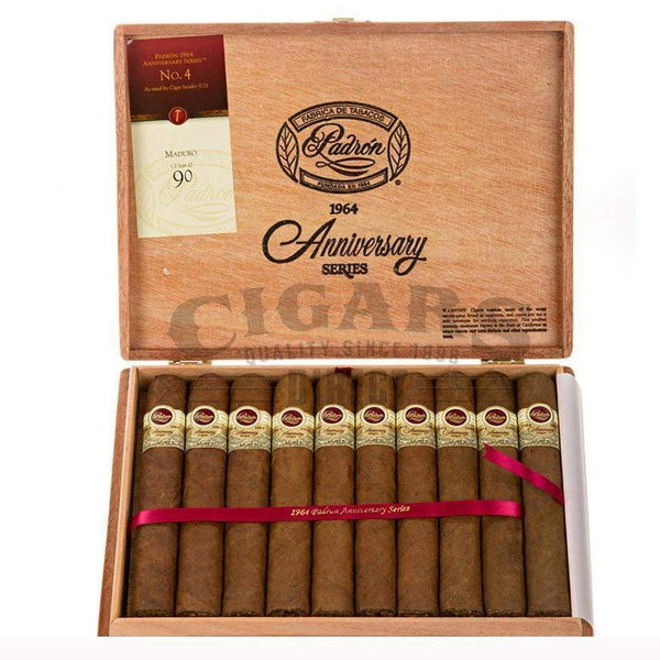Load image into Gallery viewer, Padron 1964 Anniversary No.4 Natural Box Open