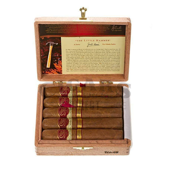 Load image into Gallery viewer, Padron Family Reserve No.46 Natural Box Open