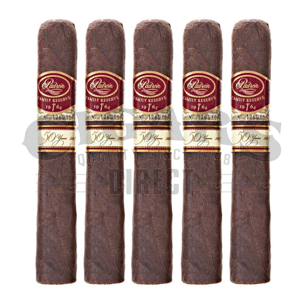 Load image into Gallery viewer, Padron Family Reserve No.50 Maduro 5 Pack
