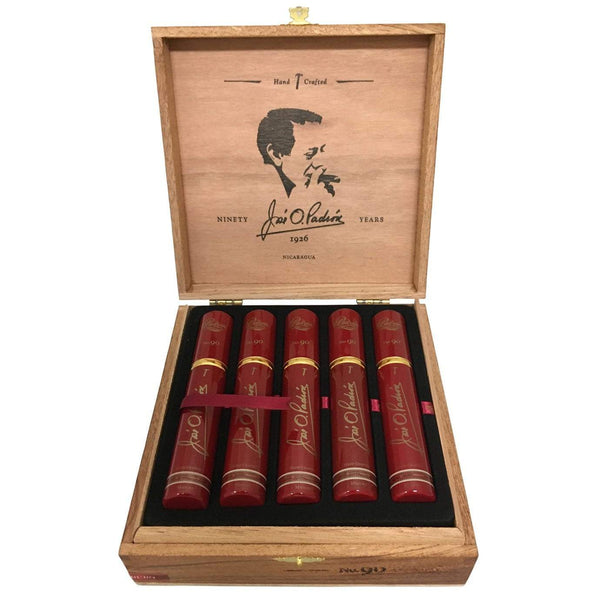 Load image into Gallery viewer, Padron Special Release No.90 Maduro Tubos Box Open