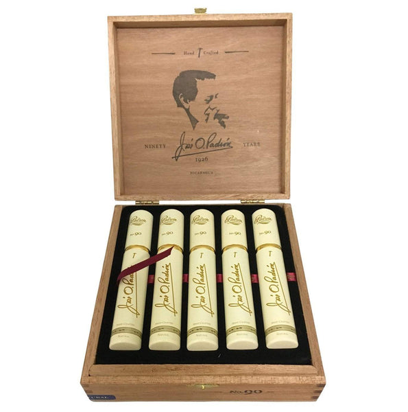 Load image into Gallery viewer, Padron Special Release No 90 Natural Tubos Box Open