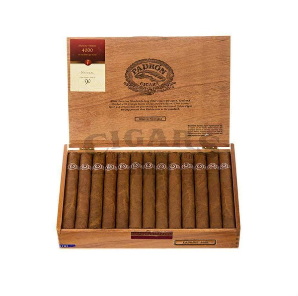 Load image into Gallery viewer, Padron Thousand Series 4000 Natural Box Open
