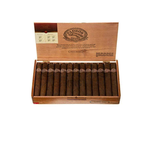 Load image into Gallery viewer, Padron Thousand Series 5000 Maduro Box Open