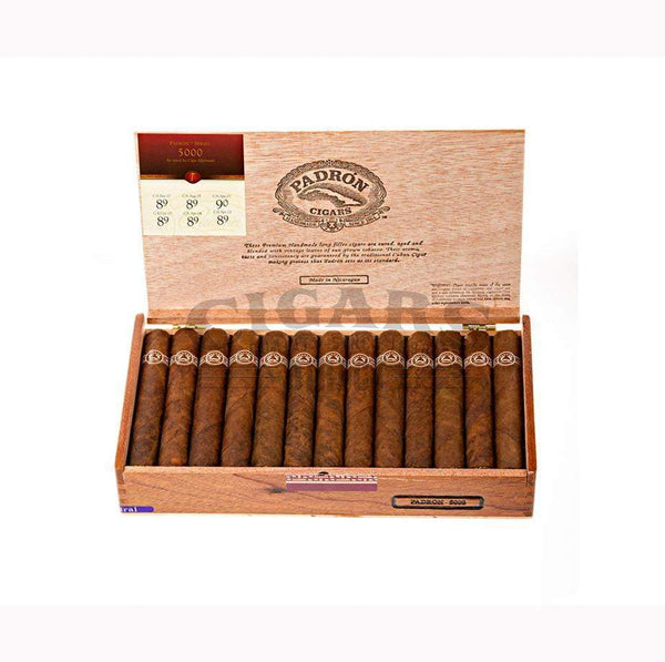 Load image into Gallery viewer, Padron Thousand Series 5000 Natural Box Open