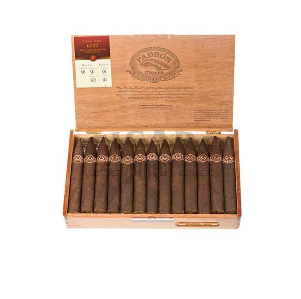 Load image into Gallery viewer, Padron Thousand Series 6000 Maduro Box Open