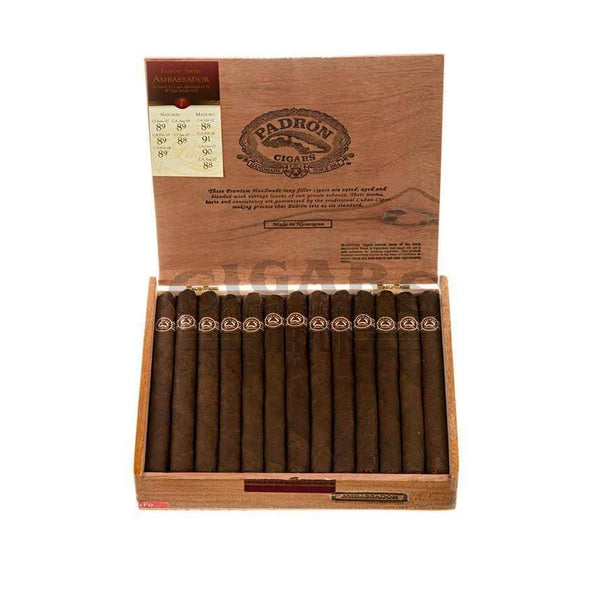 Load image into Gallery viewer, Padron Thousand Series Ambassador Maduro Box Open