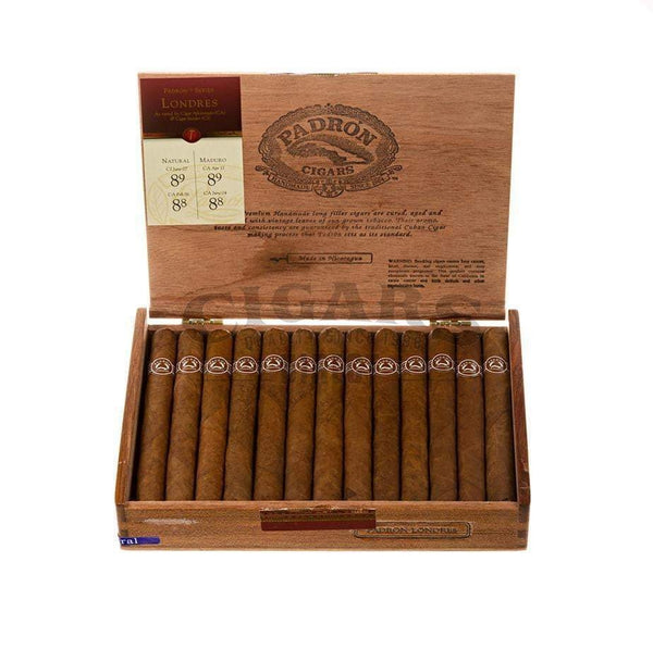 Load image into Gallery viewer, Padron Thousand Series Londres Natural Box Open