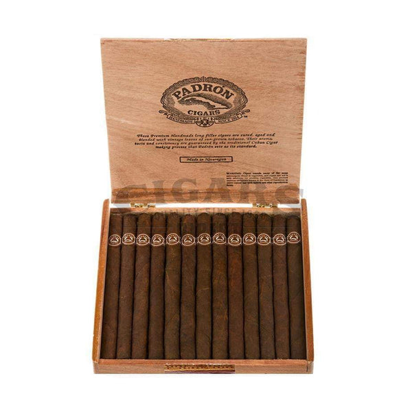 Load image into Gallery viewer, Padron Thousand Series Panatela Maduro Box Open