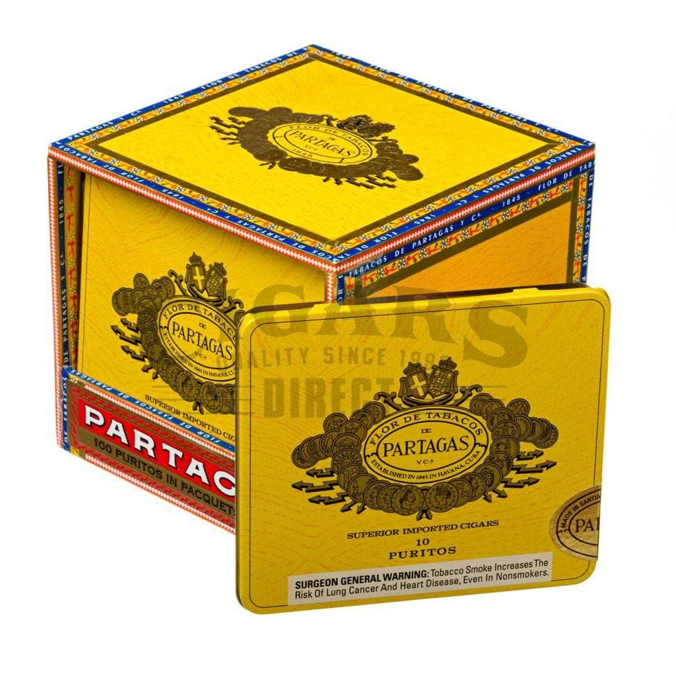 Partagas Original Puritos Box Closed