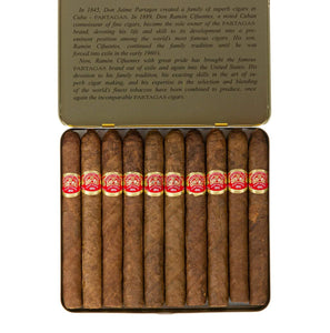 Partagas Original Puritos Box Open