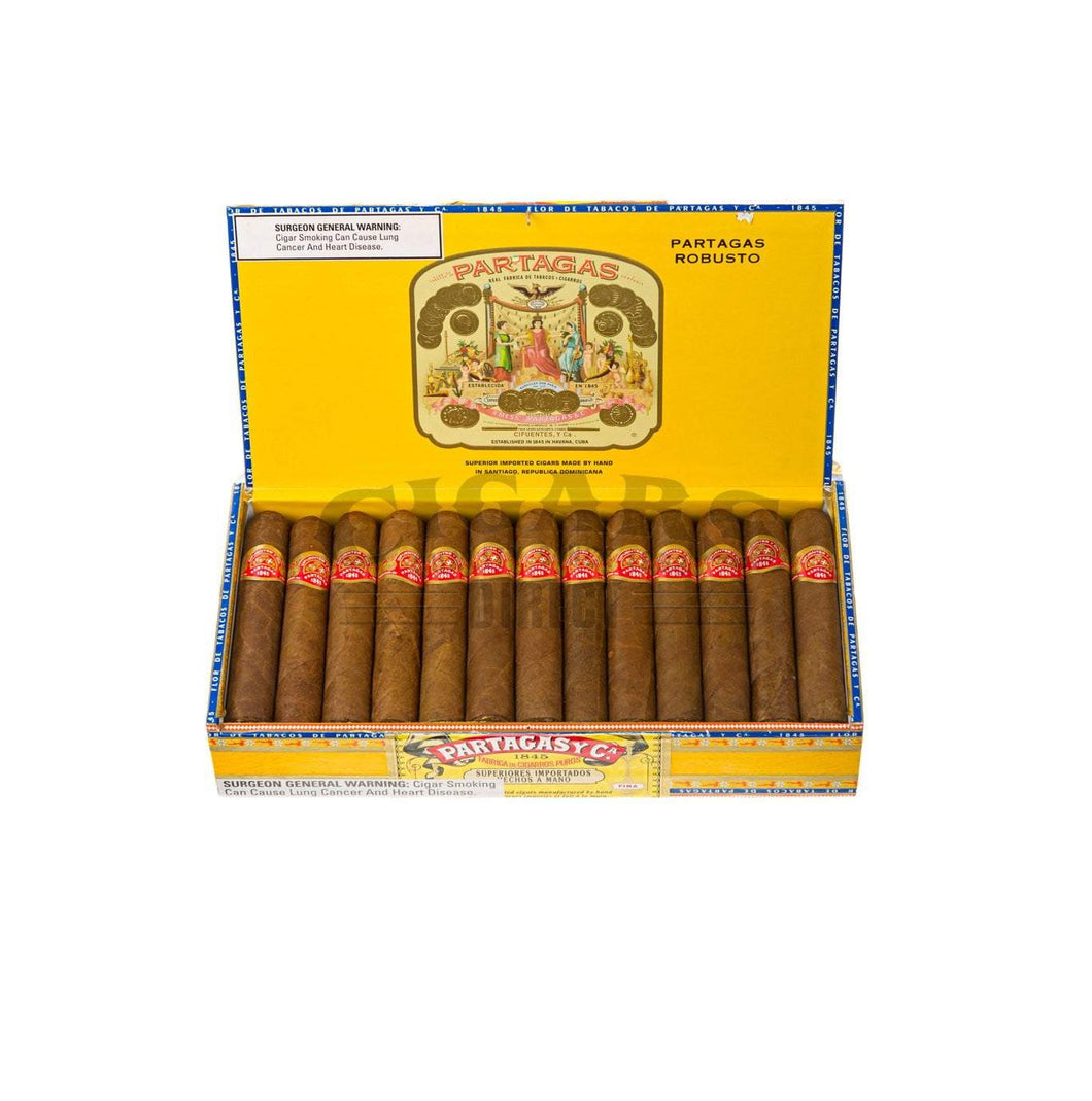 Partagas Original Robusto Box Open
