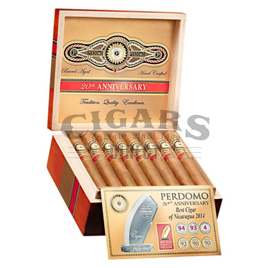 Perdomo 20th Anniversary Connecticut Torpedo Open Box