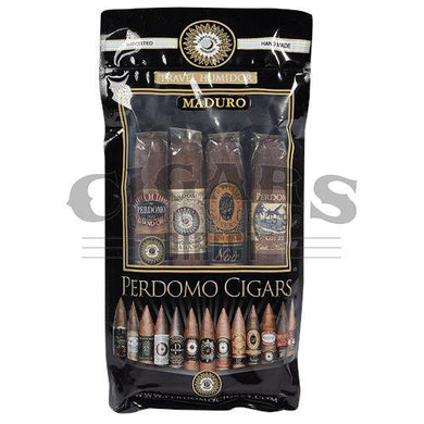 Perdomo 4-Pack Humidified Sampler - Maduro