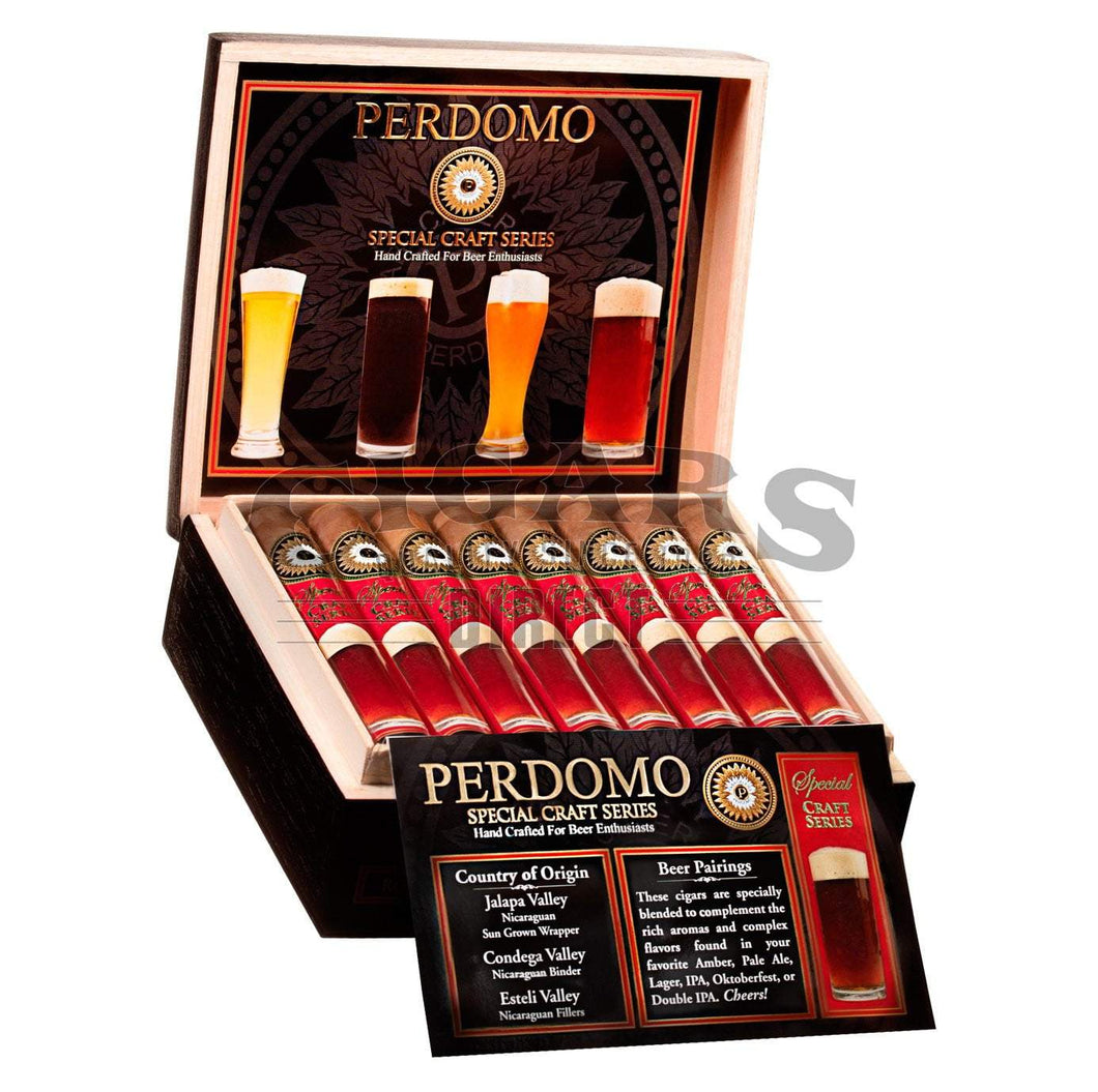 Perdomo Craft Series Amber Robusto Open Box