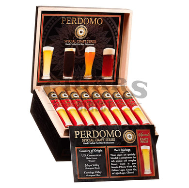 Perdomo Craft Series Pilsner Robusto Open Box