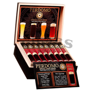 Perdomo Craft Series Stout Churchill Open Box